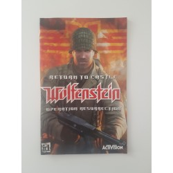 Return to Castle Wolfenstein Operation Resurrection