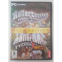 Rollercoaster Tycoon 3 Gold Edition