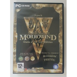 The Elder Scrolls 3 Morrowind Game of the Year Edition