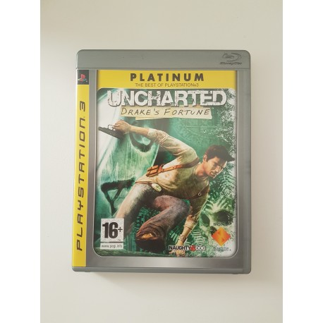 Uncharted Drake's Fortune Platinum
