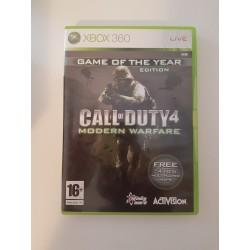 Call of Duty 4 Modern Warfare Game of The Year